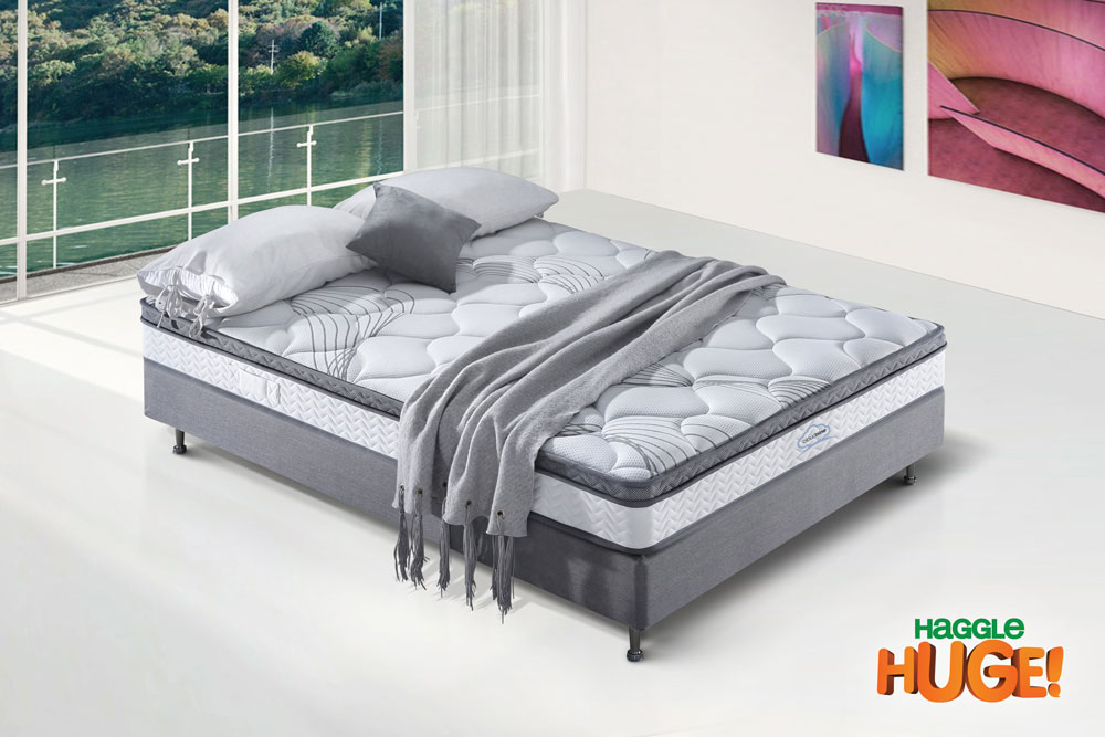 Cloud 9 king mattress hagglehuge online furniture store for Cloud 9 furniture australia